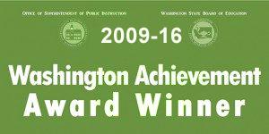 Banner for Washington achievement awards