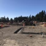 Lacamas Lake Elementary construction site