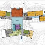 Lacamas Heights site plan drawing of first floor