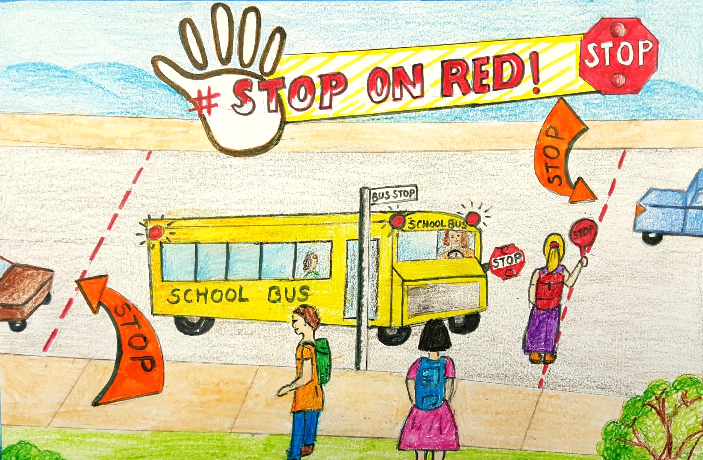 Poster by Shalaka Deshpande, third grade.