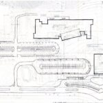 Site and parking drawing