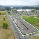 East parking lot sidewalk and street improvement