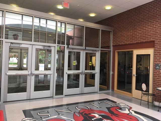 New Liberty Middle School entry way