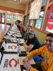 Sixteen scholar-athletes