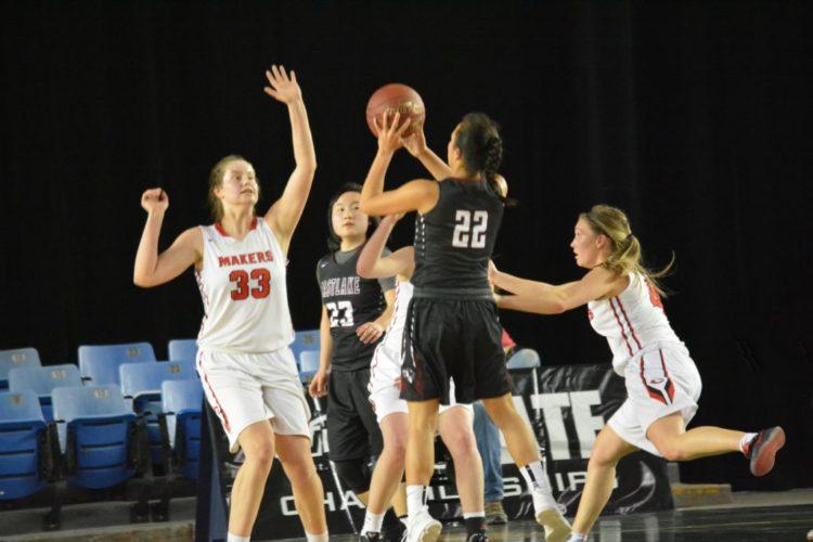 The Camas High School girls basketball