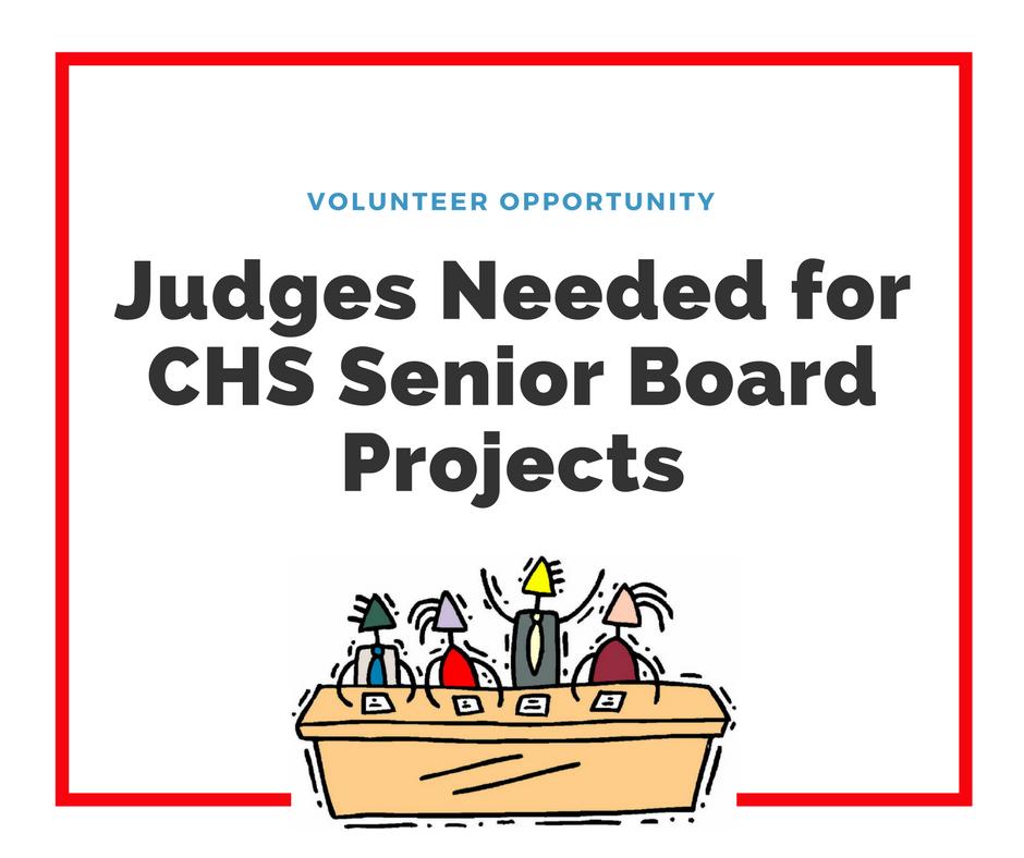 Judges Needed