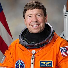 U.S. Astronaut Michael Barrett