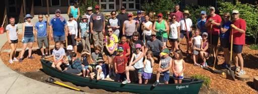 Woodburn Elementary Playscape Volunteers