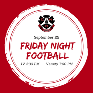 Friday Night Football graphic