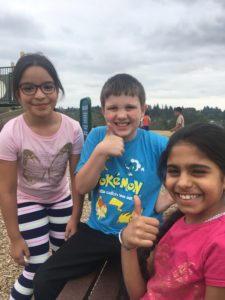 Students Give a Thumbs-Up for Outdoor Recess