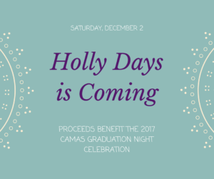 Graphic advertising Holly Days