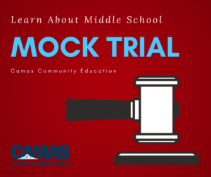Mock Trial for Middle School graphic
