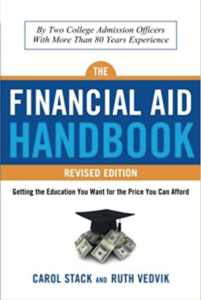 "Picture of the ""Financial Aid Handbook"" book cover."