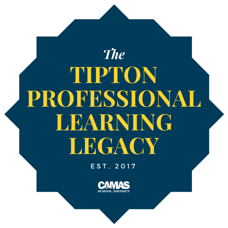 "Emblem bearing ""The Tipton Professional Learning Legacy"""