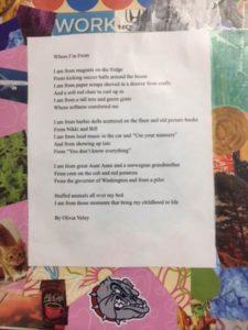 Poem by Olivia Veley