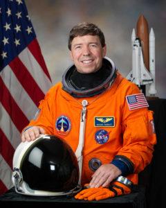 NASA photo of Mike Barratt