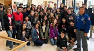 MST students pose with Dr. Barratt