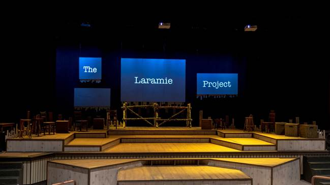 Stage set for The Laramie Project