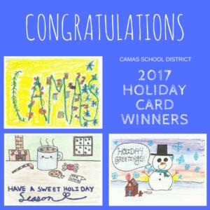 Congratulations 2017 Card Winners