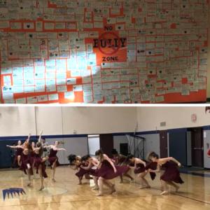 Skyridge Middle School No Bully Zone, Dancers.