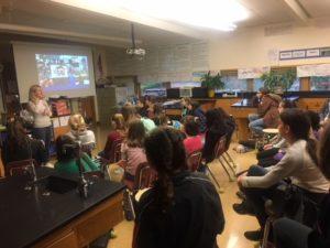 Liberty STEM Girls Hear from Megan Goodson