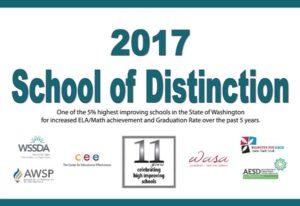 2017 Washington School of Distinction