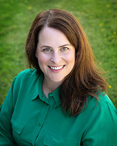 Headshot of board member Erika Cox