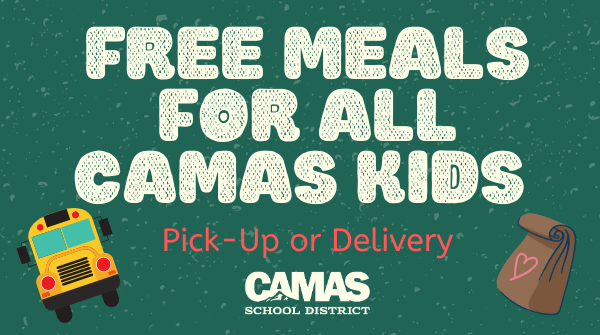 Free Meals for All Camas Kids