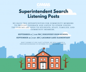 Superintendent Search Listening Posts